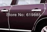 10 Feet Chrome Silver U Style ABS Car DIY Molding Door Edge Guards Protectors Stikers 5 series 3 series CX 5 Camry f-150 Ram
