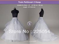style No6 White2 Hoop Crinoline wedding Petticoat