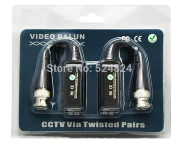 Free Shipping,200Pcs,Hight Quality,400-500M,Single Active Passive UTP Video Balun For CCTV Camera