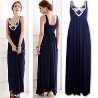 12 fashion paillette slim long design banquet formal costume choral service bride  evening dress