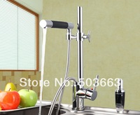 New Concept Chrome Single Lever Kitchen Swivel Sink Mixer Tap Faucet Vessel Vanity Faucet L-3610