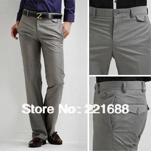 2013 New arrival men Fashion Men casual 100% cotton Business Classic pant full length/Hot sel 28-33