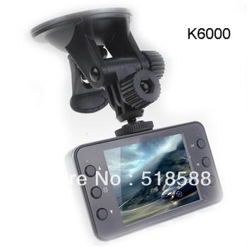 Russia Language  K6000 Car DVR HD 1080P Recorder HDMI 25FPS night vision 5MP Camera G-Sensor CMOS Car NOVATEK or SunPlus