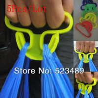 2013 Hot Sale 5Pcs/Lot High Strength Multi Shopping Grocery Bag Holder Handle Carry Carrier Carry Bag Tools(15kg)