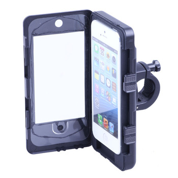 Free shippping Waterproof Shockproof Bike Bicycle Waterproof holder Mount Holder Case Cover For iPhone 5 5S Convenient holder