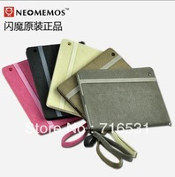 factory price 5pcs/lot new arrive matte cowboy pattern Dormancy Leather case for ipad 2/3/4
