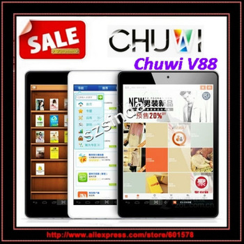 CHUWI V88 Mini pad Quad core tablet RK3188 1.8Ghz  2GB/16GB Camera 5.0MP HDMI Bluetooth 7.9inch IPS Screen Tablet PC / Anna