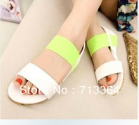 2014  Summer new arrival GangBan tide shoes with high  sandals women wedge shoes