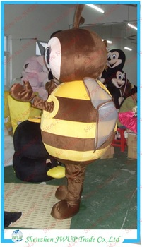 Newest Funny Bee Cartoon Costume Party Mascots Costumes Inflatable Advertising Free Shipping
