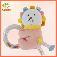 Hot selling!!!Plush baby gift toy soft promotion toy plush baby toy lion soft education toy