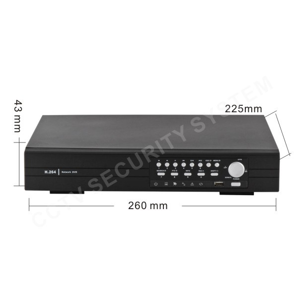 video surveillance 4 Channel D1 CCTV Digital Recorder DVR Support 1000GB 1TB HDD (no HDD)(China (Mainland))