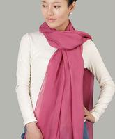 Free Shipping high quality 100% pure silk chiffon scarf shawl Long scarves
