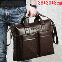 2014 Feger Brand Designers Men's Commercial Messenger Bags,Business Briefcase For Man,High Quality Genuine Real Cowhide Leather