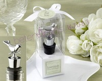 30box Love birds Bottle Stopper Wedding Decoration, event Gift, party Souvenir WJ083