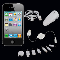 Free shipping Apple car home charger Vehicle-mounted mobile charger Universal charger  1000mA High power
