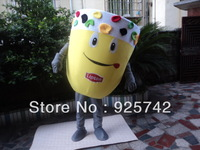 Lipton mascot costume cartoon ll clothes cartoon cotume shoe props enterprise anime costume performance wear mascot