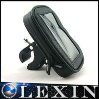 LEXINMOTO Handlebar mount kits D6 Large Case fit and Black steering wheel Mount holder