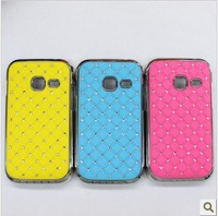 Promotion!Multi-color For Samsung Galaxy Ace Duos S6802 case ,Bling Rhinestone diamond fashion design,Free shipping