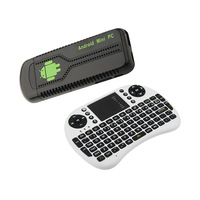 UG007B android TV Stick Smart TV Player Quad core Rockchip RK3188 Cortex A9 1.8GHz 2GB RAM 8GB ROM with keyboard mouse remote