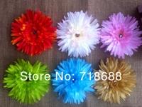 4.5 inch Australia Daisy Flower + Hairclip+Brooch) Baby Hair Bows Girl's Hair Accessories Barrette Hairpins Angel baby headwear