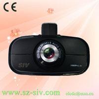 Free shipping GS900 Full HD 1080P Ambarella A2 chip set 140 degree view angle high quality GPS tracking car camera