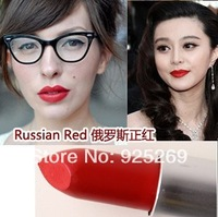 2013 Big Discount professional Brand New Russian Red Colors Lipstick 3G Lipstick 1PCS high quality matte lipstick Free shipping