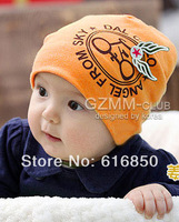 Fashion Infant Caps Soft Cotton Baby Hats Flying Bike/Racing Car  Hats For 1-4 Years Old Exported Quality Free Shipping 3002