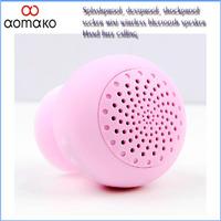 Wholesal 7pcs/lot HK/SG/cpam shippingfree  handfree calling Mini waterproof large voice Wireless  Stereo bluetooth speaker