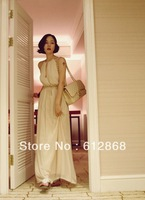 Hot Selling Women Long Maxi Slim Vest Plain Casual Dress Skirt Street Summer Wear  YJ-1806-y36-0(g250-C)