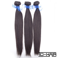 Top quality remy Indian virgin hair straight, human hair extension weaves 3pcs/lot, unprocessd color 1b TD-HAIR