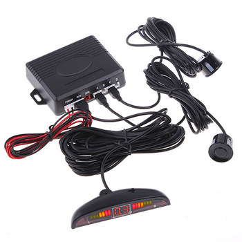 Digital LED Display Car parking/Car Reversing/Back up Radar with 4 LED Display Indicator Parking Sensors