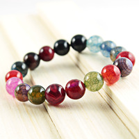 [Primary sources] natural color dragon stone bracelet wholesale Brazilian agate bracelet jewelry care for men and women