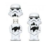 Free shipping New 10pcs/lot  cartoon star wars white soldier  usb flash dtick pen thumb drive