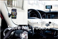 Free Shipping Car Universal Holder Mount Stand for mobile phone/GPS/MP4 Rotating 360 Degree support, for iphone ,samsung,HTC