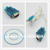 High quality! New USB to RS232 COM Port Serial PDA 9Pin DB9 Cable Adapter usb to rs232 cable + Free Shipping