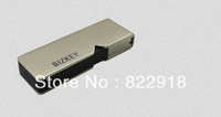 2013 New Arrival USB 3.0 Read:90MB/S Write:45MB/S  Champagne Gold color Gift USB Flash Disk Intel MLC  Logo 32GB Free Shipping