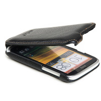 100% Original Cowhide Leather Cases For HTC T328W Case Desire V Phone Cover Pouch Free Shipping
