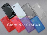 Free Shipping!! Newest S Line TPU Case for LG Optimus 4X HD P880, S Wave Gel Soft TPU Case for LG Optimus 4X HD P880, LGC-011