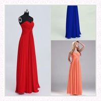 New High Quality Fashion Long Bridesmaid Dresses Sweetheart A Line Formal Homecoming Gown Custom Size Free shipping