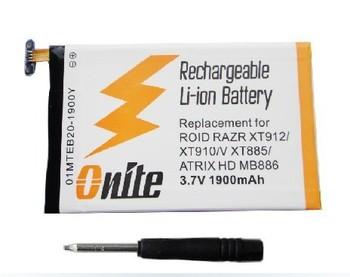 EB20 1900mAh Li-polymer Battery for DROID V XT885 / ATRIX HD MB886, compatible with DROID RAZR XT912 / XT910 Free Shipping