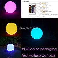 Dia 25cm  sphere orb shell lLED light, led waterproof ball