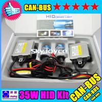 35W xeno HID KIT H1 H3  H7 H8/H9/H11 D2S D2C 6000K HID canbus xenon kit  freeshipping to Japan ID1058