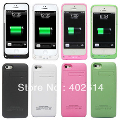 Extra battery power for iPhone 5 2200MAH 50pcs/lot free shipping by DHL(China (Mainland))