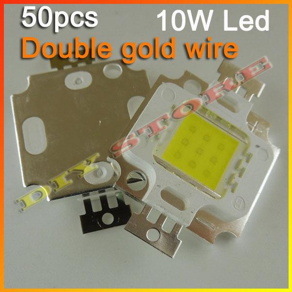 50pcs/lot Free Shipping 10W 900LM LED Bulb IC SMD Lamp Light White High Power-10000054(China (Mainland))