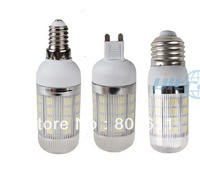 G9/E27/E14 AC 85-265V 8W 5050 SMD 36 LED Cool / Warm White Corn Light Bulb  With Cover