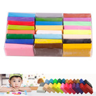 4PCS Colorful FIMO Effect Polymer Clay Blocks Soft#27105(China (Mainland))