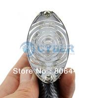 New Universal Snake Skin 2 x Motorcycle 12-LED Turn Signal Indicators Lights Amber Yellow SV18 TK0595