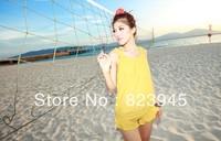 Free-shipping  Korea lovely Bikini Women Swimsuits 2013 High Quality Fashion 4-sets Bikini