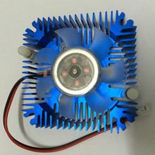 10 pz/lotto 5 w 10 w alto potere led ventola di raffreddamento in alluminio dissipatore spedizione gratuita(China (Mainland))
