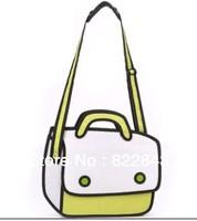 2013 Hot Sale Cartoon Shoulder Bag Cat Cartoon Package Free Shipping 2d 3d cartoon bag cartoon comic shoulder bag